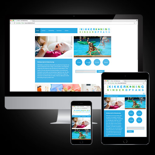 ux design website kikkerkoning