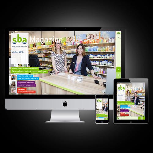 online magazine design